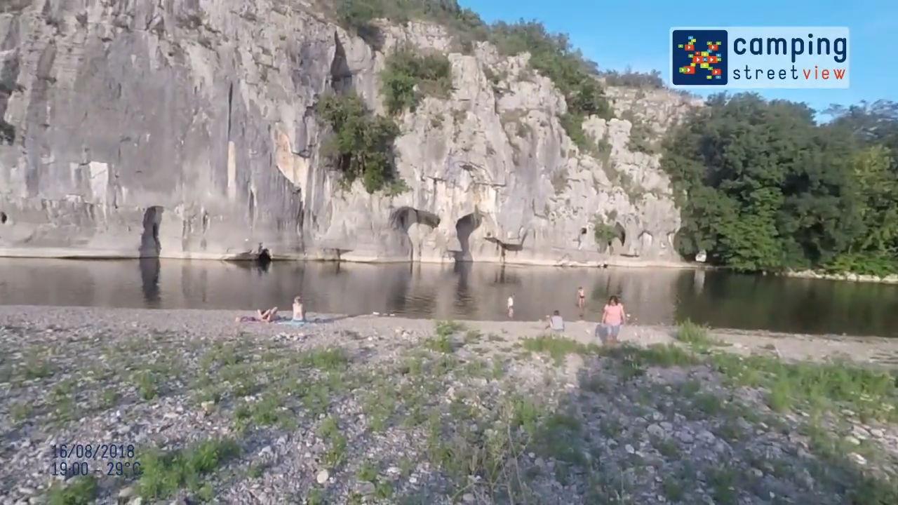 Vidéo Camping Street View les Actinidias